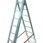 Hliníkové žebříky až 9,5 metru vysoké