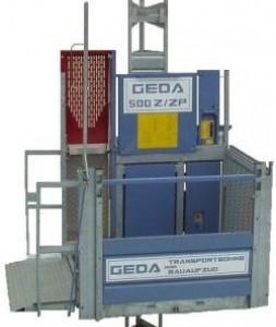 Stavební výtah GEDA 500Z